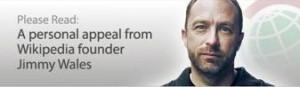 Wikipedias grunnlegger Jimmy Wales tigger penger med jevne mellomrom. Det er ikke alle som liker det...