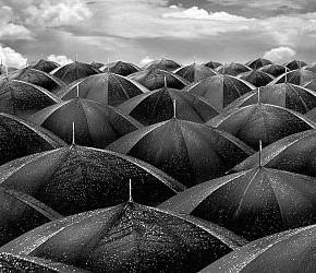 Slå opp paraplyene!