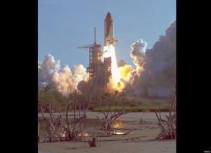 Den første oppskytningen av Discovery fant sted i 1984 (Foto: NASA)