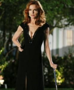 Knis. Bree tok kjolen på bak frem. (Foto: Tv2)