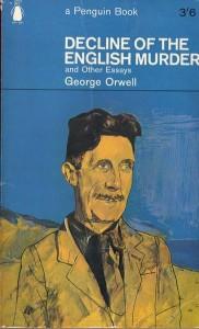 Forsiden av en essaysamling med George Orwell som ble gitt ut i 1965. (Kilde: Wikipedia)
