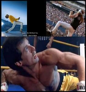 Freddie Mercury, Axl Rose, Rocky Balboa. Hva slags blandings er dette?