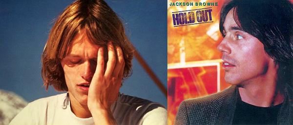 Jørgen Roll og Jackson Browne hadde samme hårsveis i 20 år.
