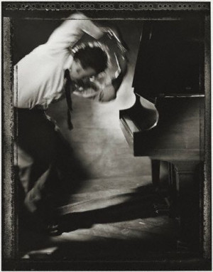 Tom Waits og hans piano