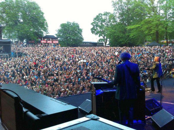 Tom Petty and the Heartbreakers på Norwegian Wood 2012 (foto: Jørgen Roll)