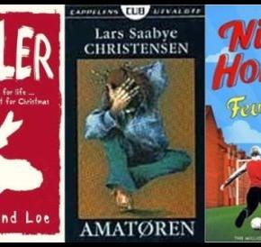 Hvilke bøker får latterdøra på vidt gap?