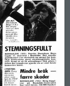 Faksimile fra Aftenposten juni 1989
