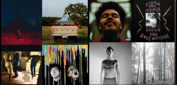 Årets 100 beste utenlandske låter (2020)
